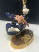 Disney Arribas Brothers 20th Anniversaty Mickey Mouse Crystal