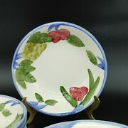 Franciscan Pottery And039orchard Gladeand039 11 Fruit/dessert Sauce Bowl Excellent