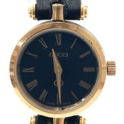 Watches Quartz Vintage Sherry Line Stainlesssteel/leather Gold/black Women