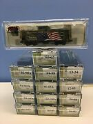 N Scale Micro Trains Mtl Lowell Smith National Parks Series - First 13 Plus Cab