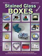 Patterns For Stained Glass Boxes By Randy A. Wardell Brand New