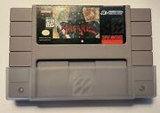 Hagane - Super Nintendo -snes - 100 Authentic And Original - Cleaned And Tested
