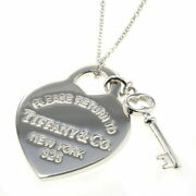 Necklace Return To Heart Tag Key Silver 925 Ladies And Co. K106