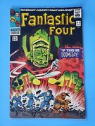 Fantastic Four 49 1st Galactus Silver Age Marvel Kirby Qualified Grade See Desc