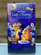 Lady And The Tramp Vhs 2006 1st Dmc Disney Movie Club Exclusive Rare Sealed