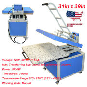 31in X 39in Large Format Manual Textile Thermo Transfer Heat Press Machine 220v