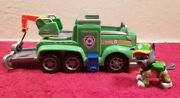 Paw Patrol Rockyand039s Ultimate Rescue Recycling Truck With Rocky Action Figure
