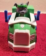 Paw Patrol Spin Master Rockyand039s All Star Recycling Truck With Action Figure Rare