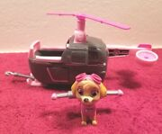 Paw Patrol Skyeand039s Helicopter With Skye Action Figure. Great Condition.