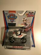 Paw Patrol Wild Cat True Metal Moto Pups Nickelodeon With Collector Poster