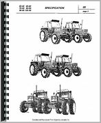 Fiat Hesston 110-90 Tractor Service Manual By Misc. Tractors Manuals Brand New