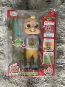 Cocomelon Deluxe Interactive Jj Doll Brand New Holiday Toy In Hand Ships Fast