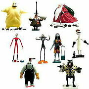 10/21 Entry Double Nightmare Before Christmas Action Figure 18 Assorted Box