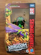 Transformers War For Cybertron Kingdom Deluxe Class Waspinator In Hand