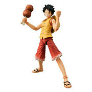 One Piece Monkey D Luffy Action Figure Megahouse Mh Vah Past Blue New