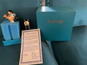 1995 Disney Pocahontas Limited Edition Figure And Watch Set W/ Certificate Of Auth