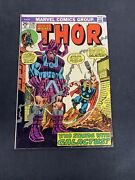 Thor 226 Comic Books 2nd Firelordgalactus W/ Marvel Value Stamp