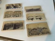 Antique Stereoscope Viewer Underwood Photographs Cards United States Lot Of 6