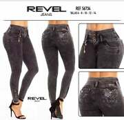 Revel Jeans Authentic Butt Lifter Colombian Skinny Jeans Push Up 56734
