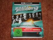 Fast And Furious 9 - Limited 2-disc 4k Uhd Steelbook Edition Neu+ovp