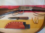 Jeff White Handcrafted 1/8 Utility Knife Trade Survival Hunting Bushcraft Edc
