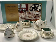 Pfaltzgraff Naturewood My Little Tea Set Very Rare Out Of Production