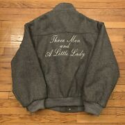 Vintage Reebok Sport Three Men And A Little Lady Movie Cast And Crew Wool Jacket
