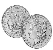 Morgan 2021 Silver Dollar With O And Cc Privy Mark 21xd 21xc Lot Of 10 Presale