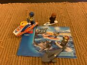 Lego 60011- Surfer Rescue- Town City Coast Guard - Complete With Instructions