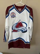 Patrick Roy Colorado Avalanche Mitchell And Ness Jersey 100 Authentic