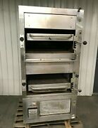 South Bend 270 Double Infrared Deck Radiant Broiler Free Standing Natural Gas