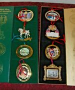 Lot Of 32 White House Historical Ass Christmas Ornaments 1989-2015 +extras