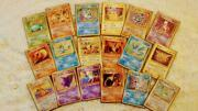 Pokemon Cards Old Back More Than 250 Sheets Expansion Pack 1st 4th Complete
