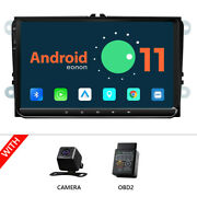 Cam+obd+for Vw Jetta Passat Rns510 9 Ips Android 11 Auto Carplay Car Stereo Gps