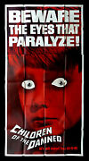Children Of The Damned Cinemasterpieces Creepy Scary Movie Poster 1963 Horror