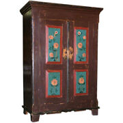 Armoire Ca. 1850 Great Computer Work Station Or For Tv