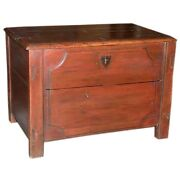 Russian Hope Chest Blanket Box Dowry Chest Ca.1840