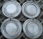 Vintage Classic Antique 1968 Olds Oldsmobile F85 Cutlass Hubcaps Wheel Covers