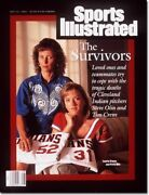 July 12 1993 Laurie Crews And Patti Olin Cleveland Indians Sports Illustrated