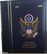 1999 - 2009 Complete State Quarters With D.c And U.s. Territories Colletion P And D