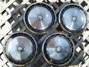 Antique Vintage Classic 1971-73 Ford Mustang Hubcaps Center Caps Wheel Covers