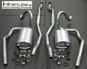 68 Gto Ho Ram Air Complete Exhaust System Manual Trans