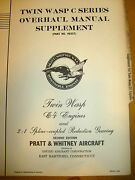 Twin Wasp C4 And 21 Spline Gears Ohc Manual Supplement