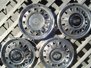 Antique Vintage 1967 67 Chevrolet Chevy Ss Impala Belair Hubcaps Wheel Covers