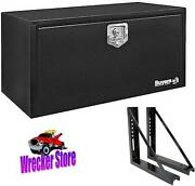 18 X 18 X 36 Underbody Tool Box With Mounting Brackets For Rollback, Car Hauler