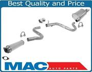 Fits 1997-2004 Buick Regal 3.8l Resonator And Muffler Exhaust System