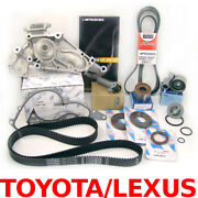 Complete Timing Belt+water Pump Kit For Toyota Tundra Truck 4.7l-v8 / 2000-2004