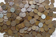 1909 To 1958 One Full Pound Of Unsearched Wheat Pennies Collection