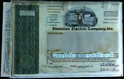 Hawaiian Electric Co. Inc. Unique Production File W/ Proofs And Model Pahv121