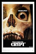 Tales From The Crypt Cinemasterpieces Horror Skull Scary Movie Poster 1972